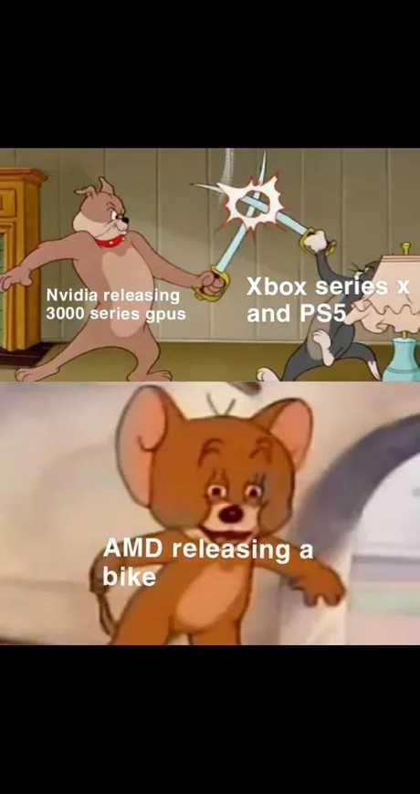 Amd Selling Them Some Mountain Bikes Meme By Dildonator Memedroid