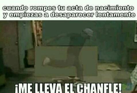 Chamfle
