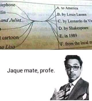 jaque mate XD