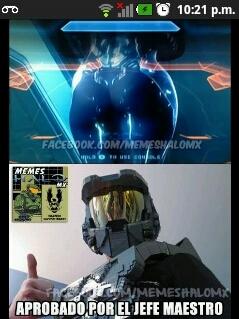 Masterchief Approves Meme By Luisquendero Memedroid