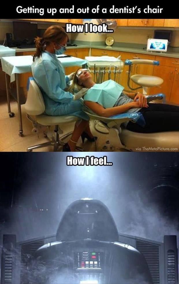 Dentist wars - meme
