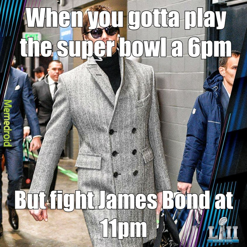 Tom Brady is a douche - meme