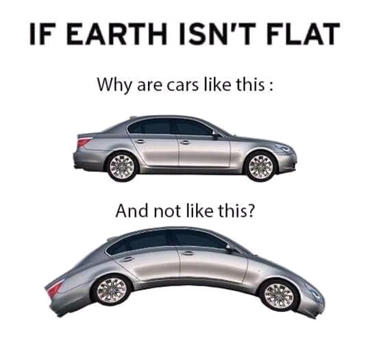 Earth is square - meme