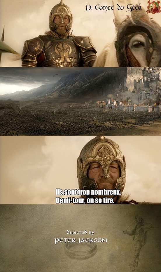 Dé Dé Défaite - meme