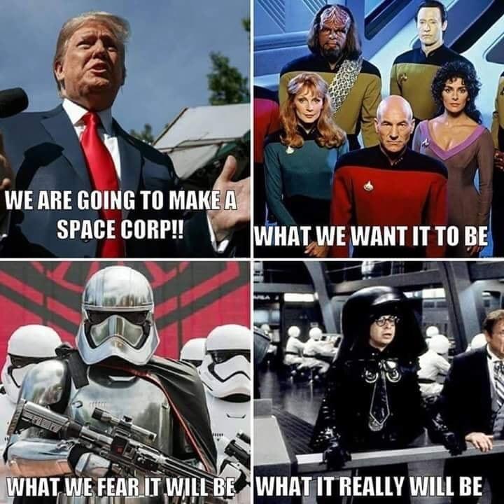 space force - meme