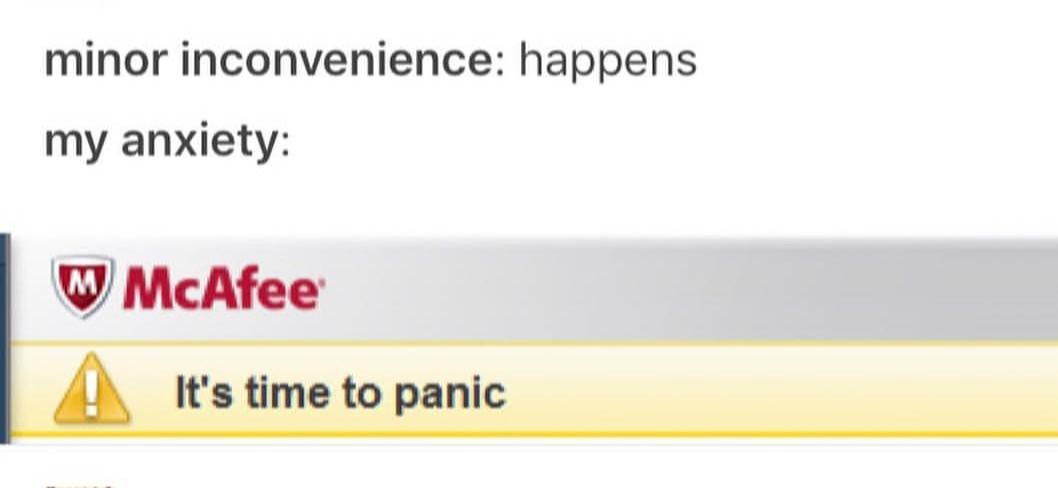 Panic - meme