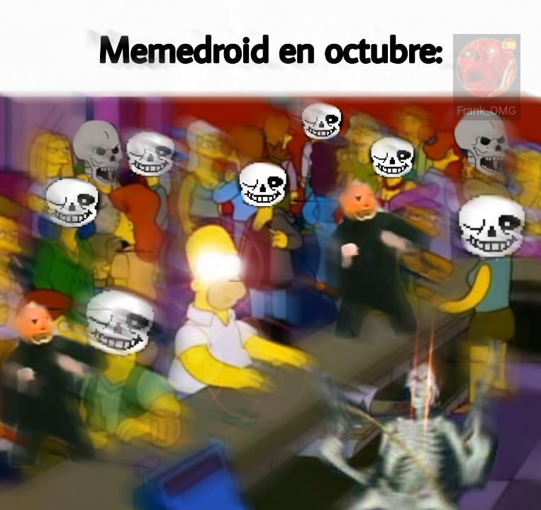 Spooky scary skeletons... - meme