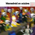 Spooky scary skeletons...