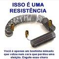 Resistência é a capacidade de um corpo de se opor a corrente elétrica