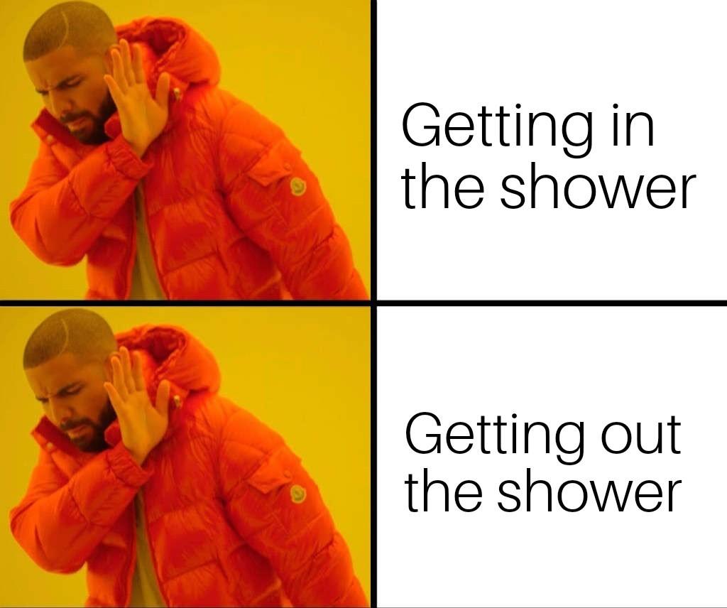 Shower - meme