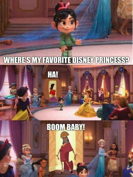 Cusco best princess - meme