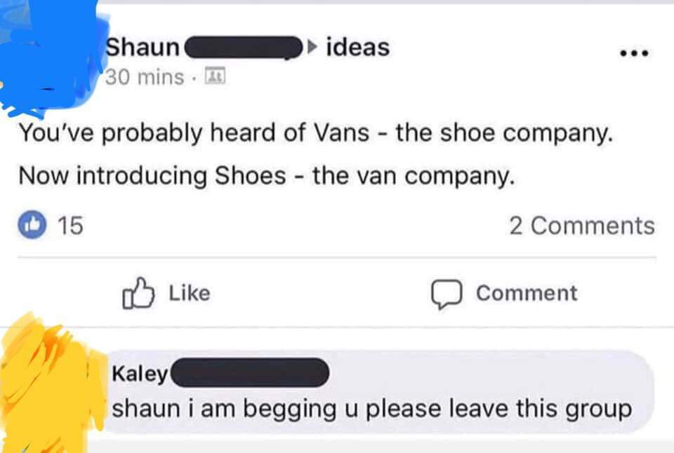 Shoes - meme