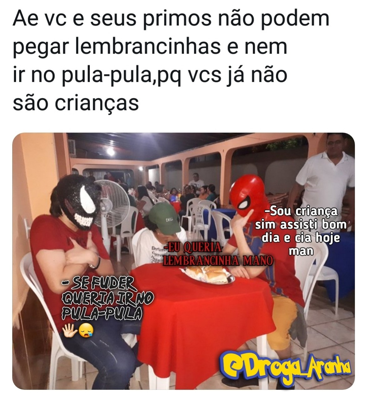 Casa do Flávio - meme