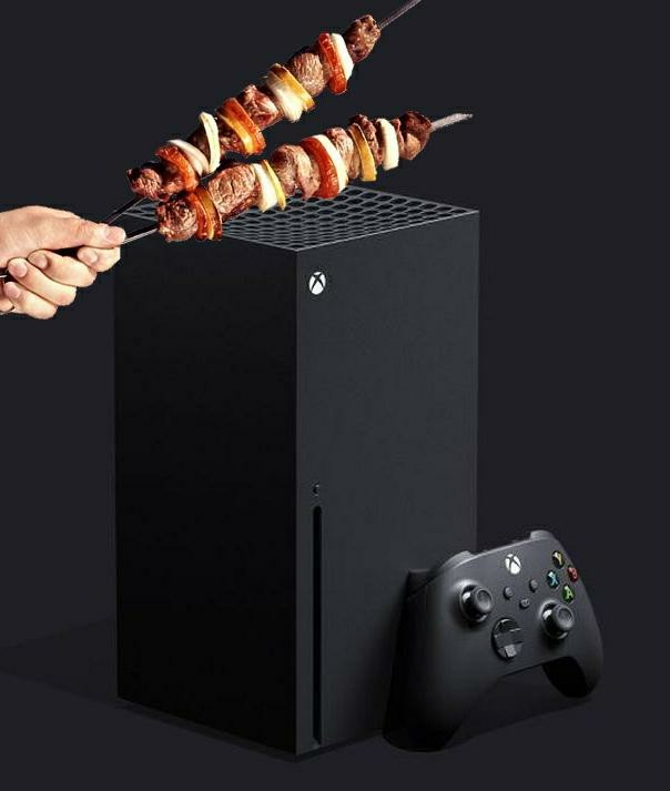 Novo Xbox Onde Grill - meme