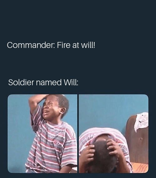 Poor Will - meme