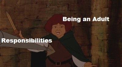 Adulthood - meme