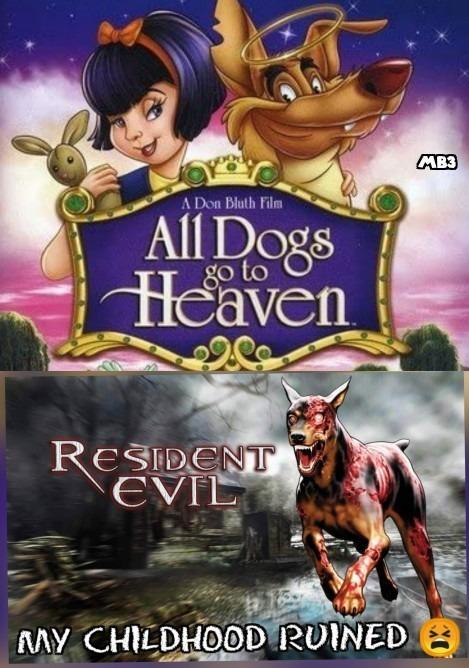Childhood Ruined - meme