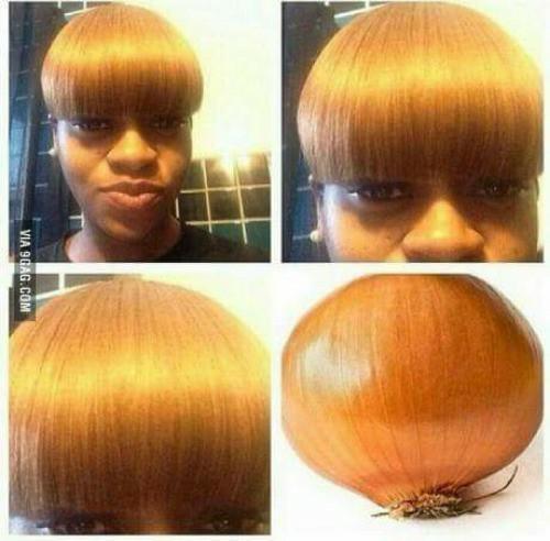 Legal o cabelo '-' - meme