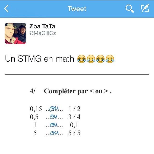 Stmg en math - meme