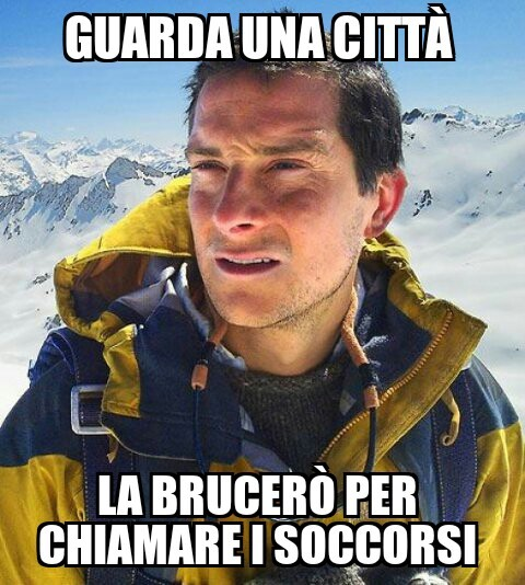 Bear Grylls - meme