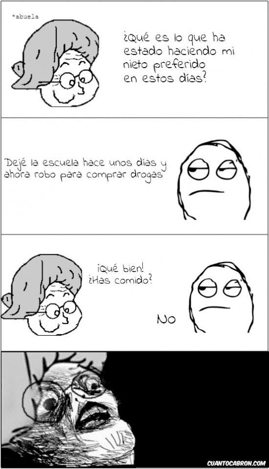 Típico de abuelas - meme