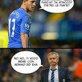 Spiegazione, il calciatore si chiama EDEN Hazard, EDEN è il suo nome, spero vi piaccia :)