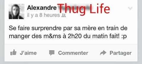 The Thug Life choose me .... - meme