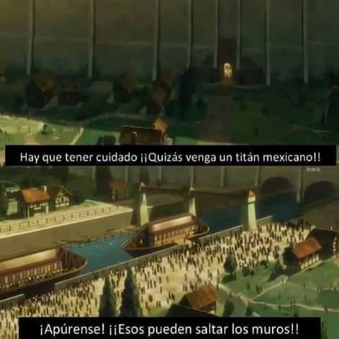 Un titan mexicano - meme
