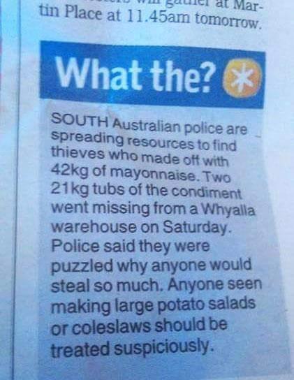 Show me potato salad! - meme