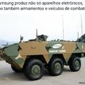 Quero ver se o tanque travar no meio da guerra