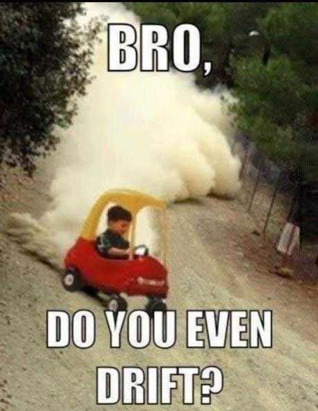 Drift level: pro - meme