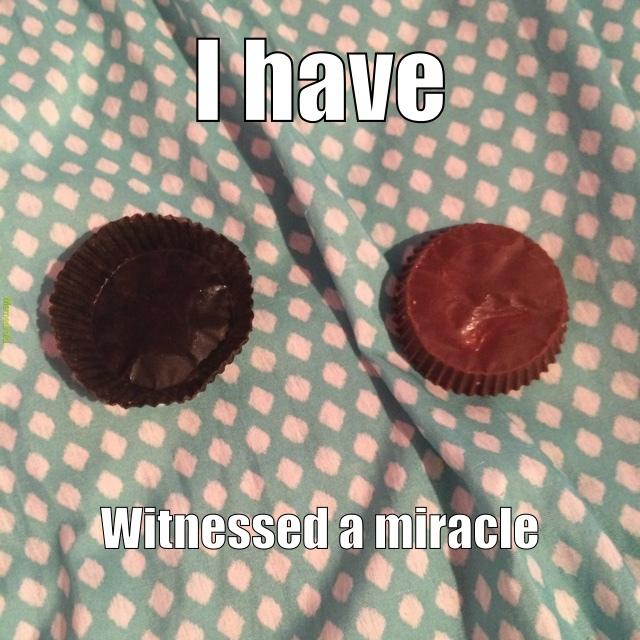 Reese's miracles - meme