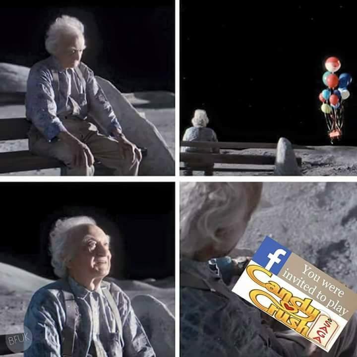 You can't escape - meme