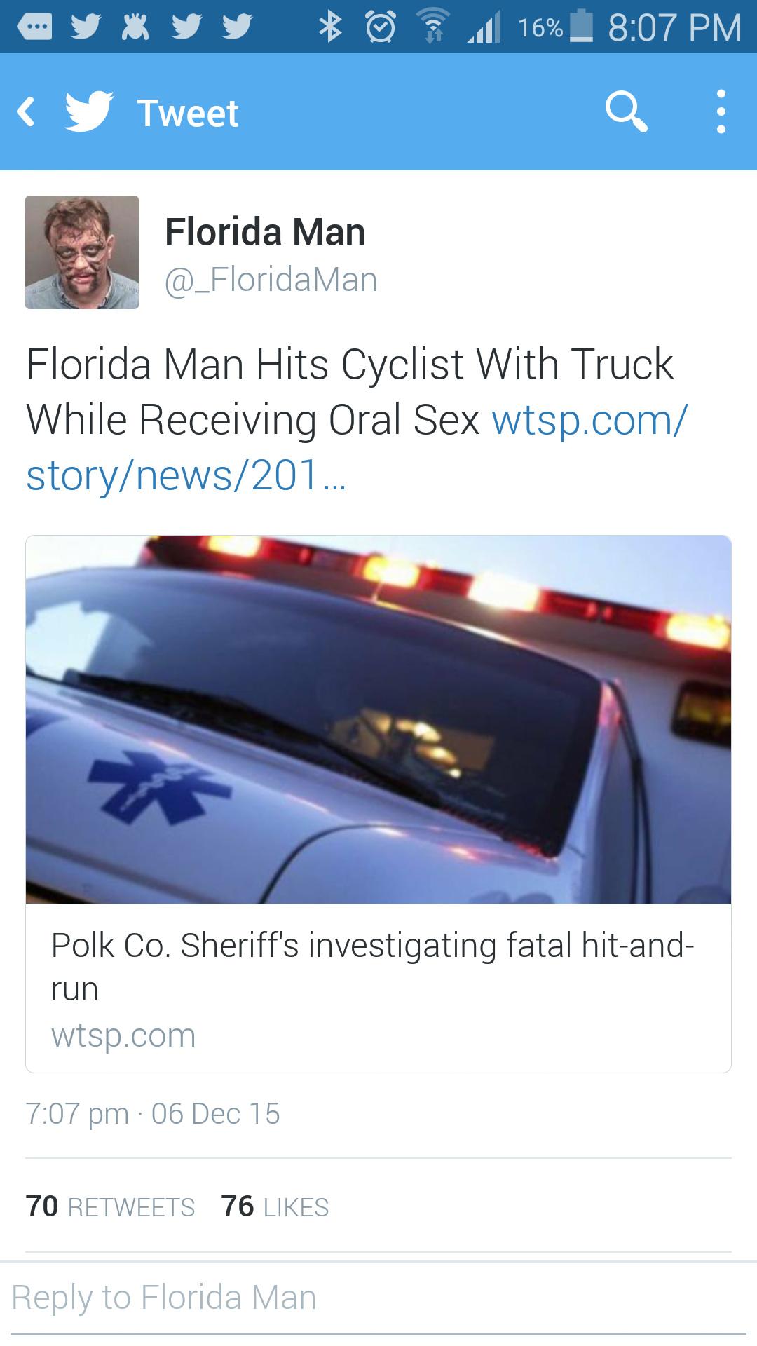 Florida man strikes again! - meme