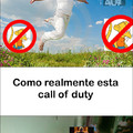 Pobre call of duty