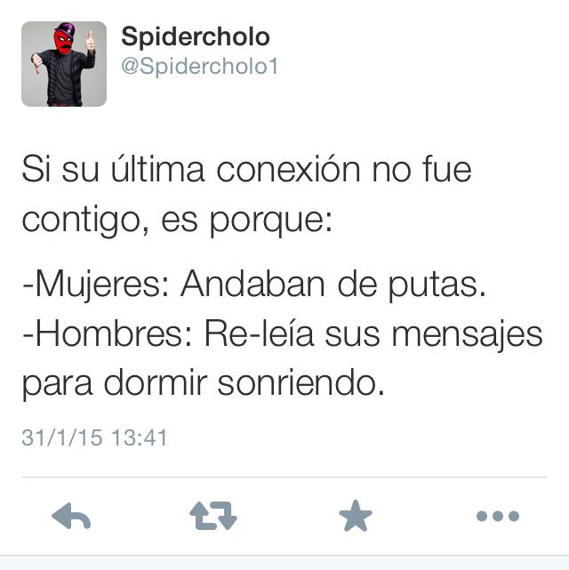Puto spidercholo - meme
