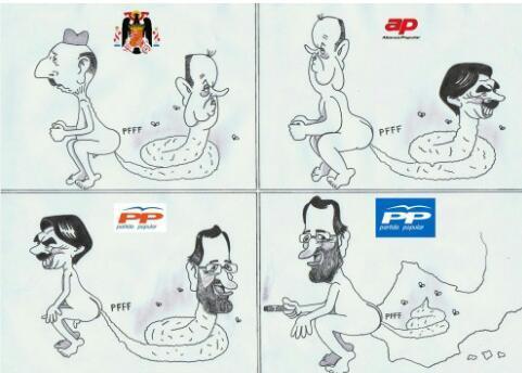 La historia de España - meme