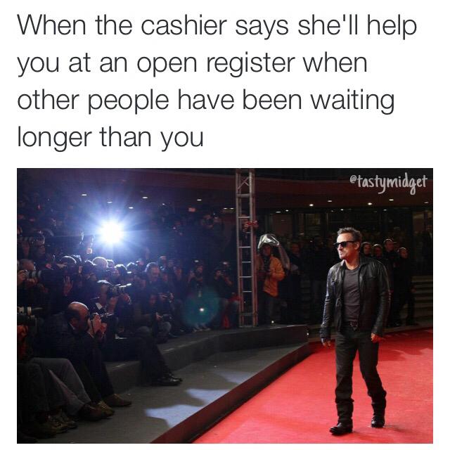 Red carpet treatment. - meme