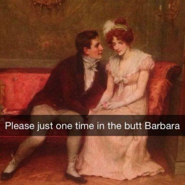 Cmon Barbara - meme