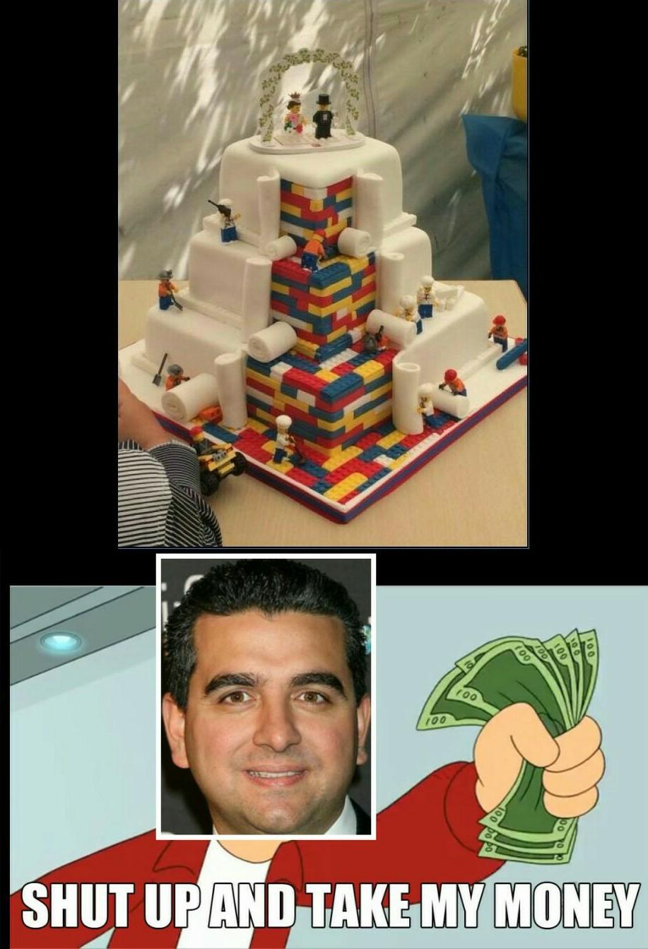 Per chi non lo conosce lui è il boss delle torte - meme