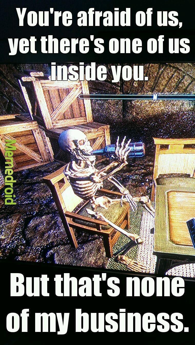Found this guy in Elder Scrolls Online - meme