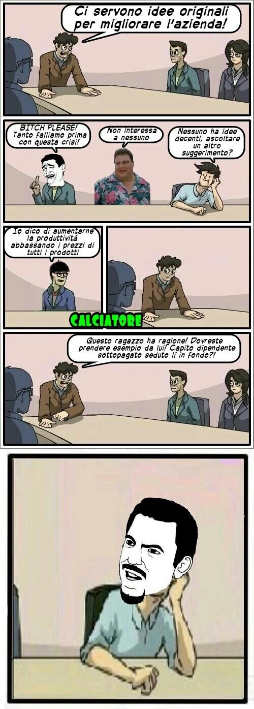 Poor dipendente - meme