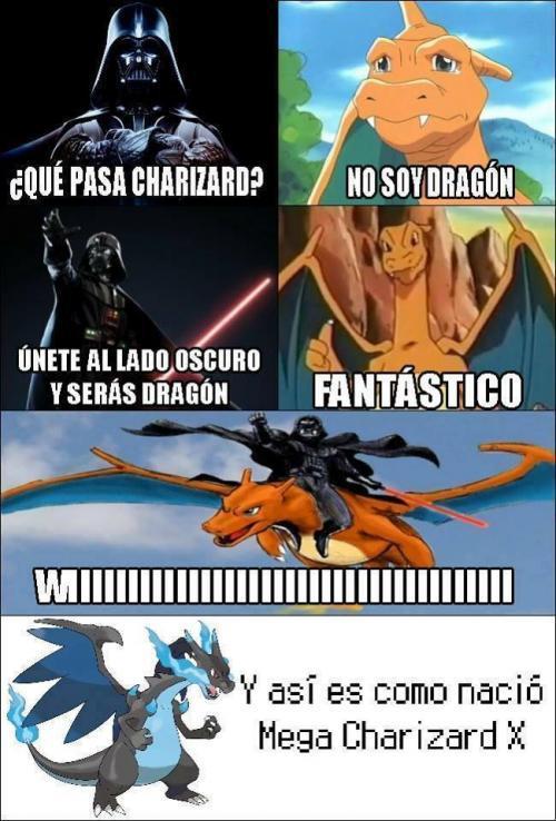 Charizard - meme