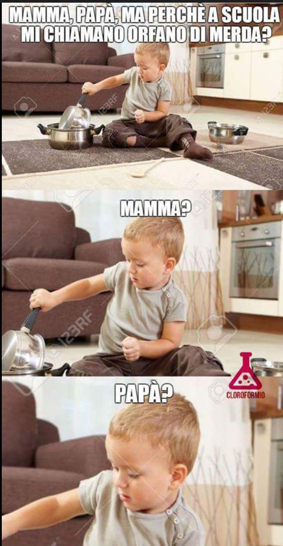 Mamma e papà - meme