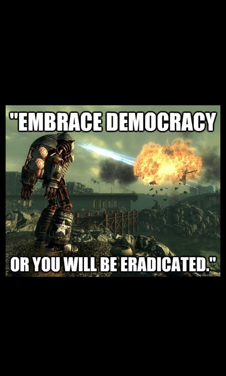 Liberty or nothing - meme