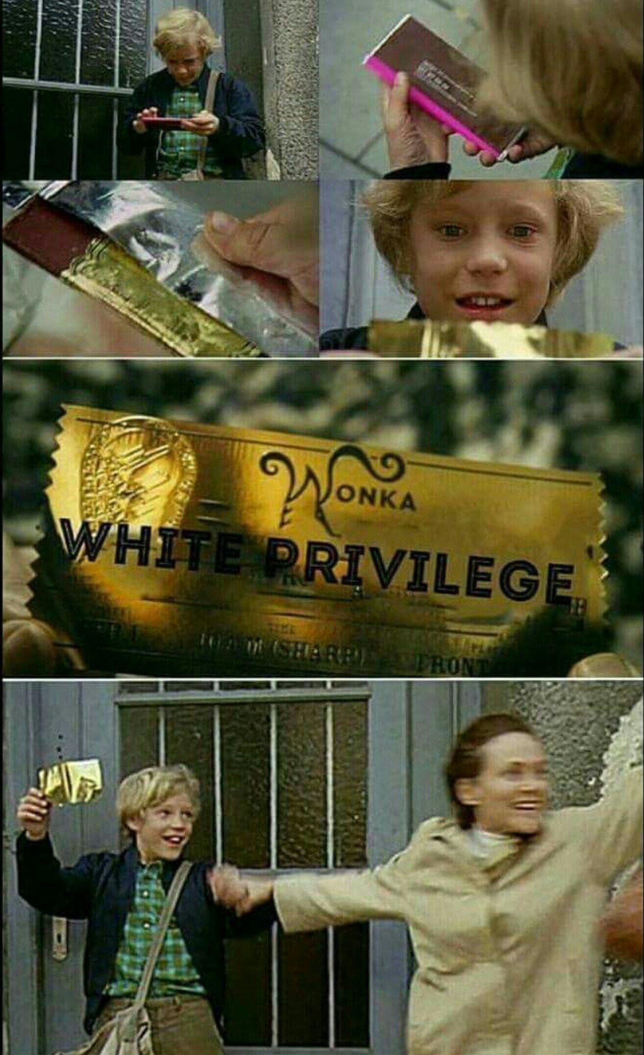 I've got a Golden Ticket - meme