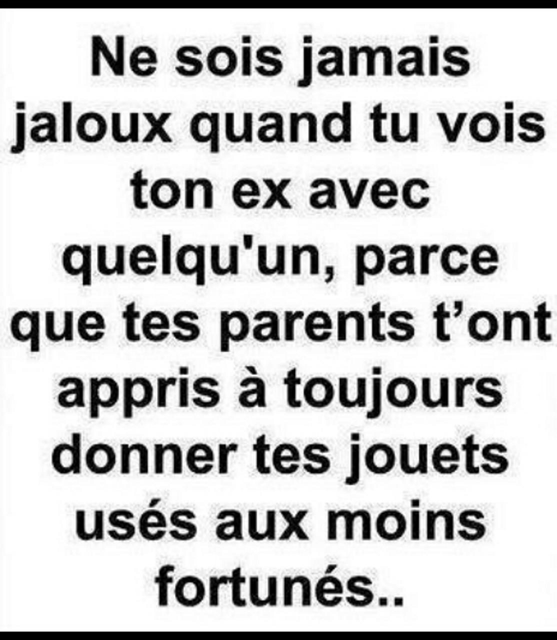 Toujours jaloux ? - meme