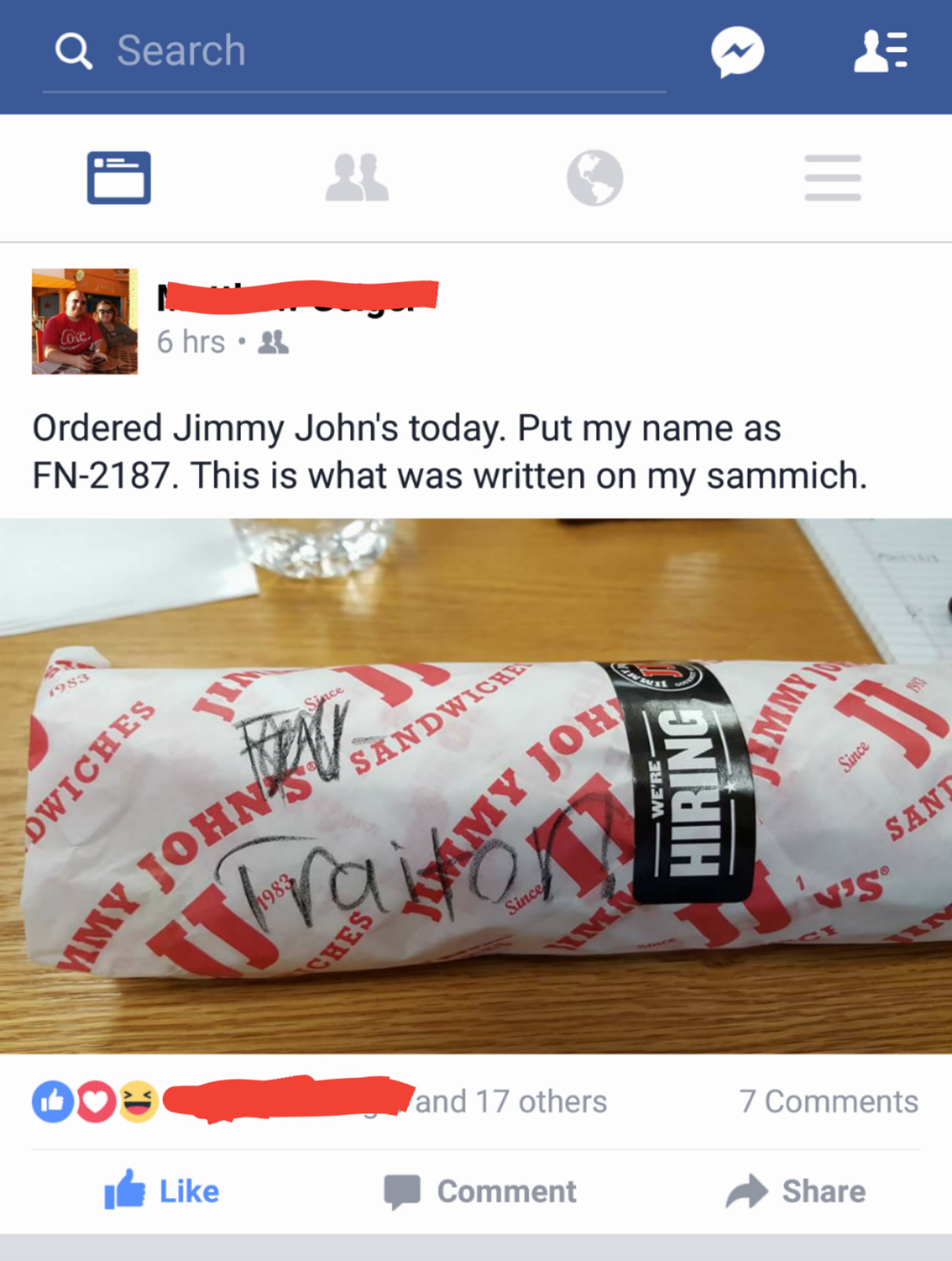 Jimmy Johns: The Hunger Awakens - meme