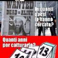 Battuta ironica su Bin Laden...