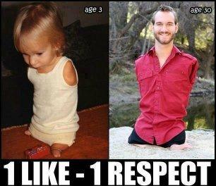 1 LIKE = 1 RESPECT - meme